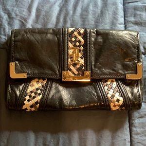 L.A.M.B leather clutch purse!!